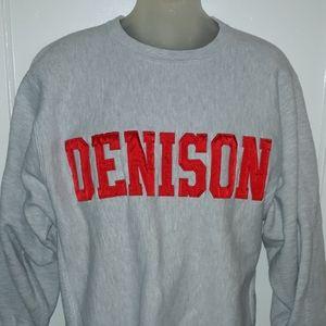 🔥VTG 90's Champion Denison University Sweatshirt